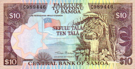 Currency of Samoa