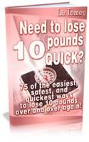 lose 10-pounds quick
