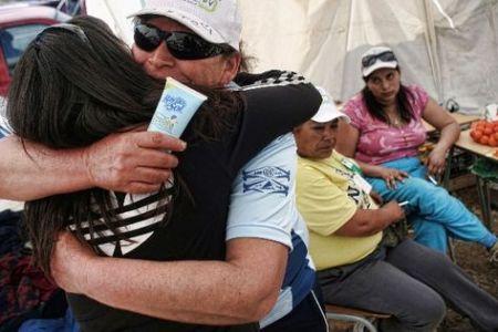 Rescate en Chile