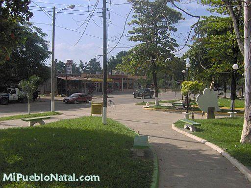 Parque central de Tocoa