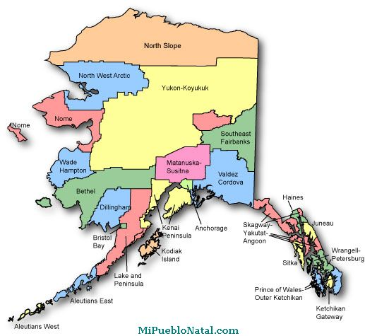 alaska is one of the 50 states that form the united states alaska has ...