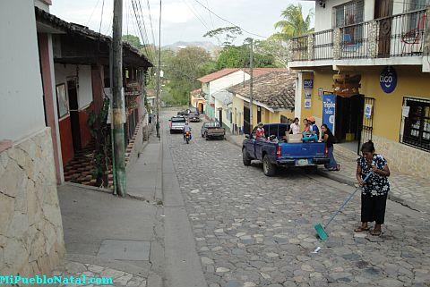 Calles de Copan Ruinas