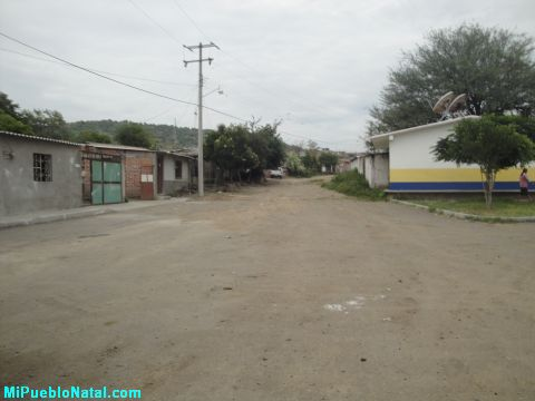 Calle en Sanj