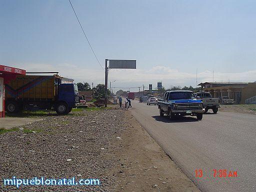 Carretera principal de Tocoa