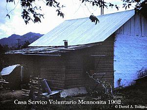 Casa de voluntarios Menonita