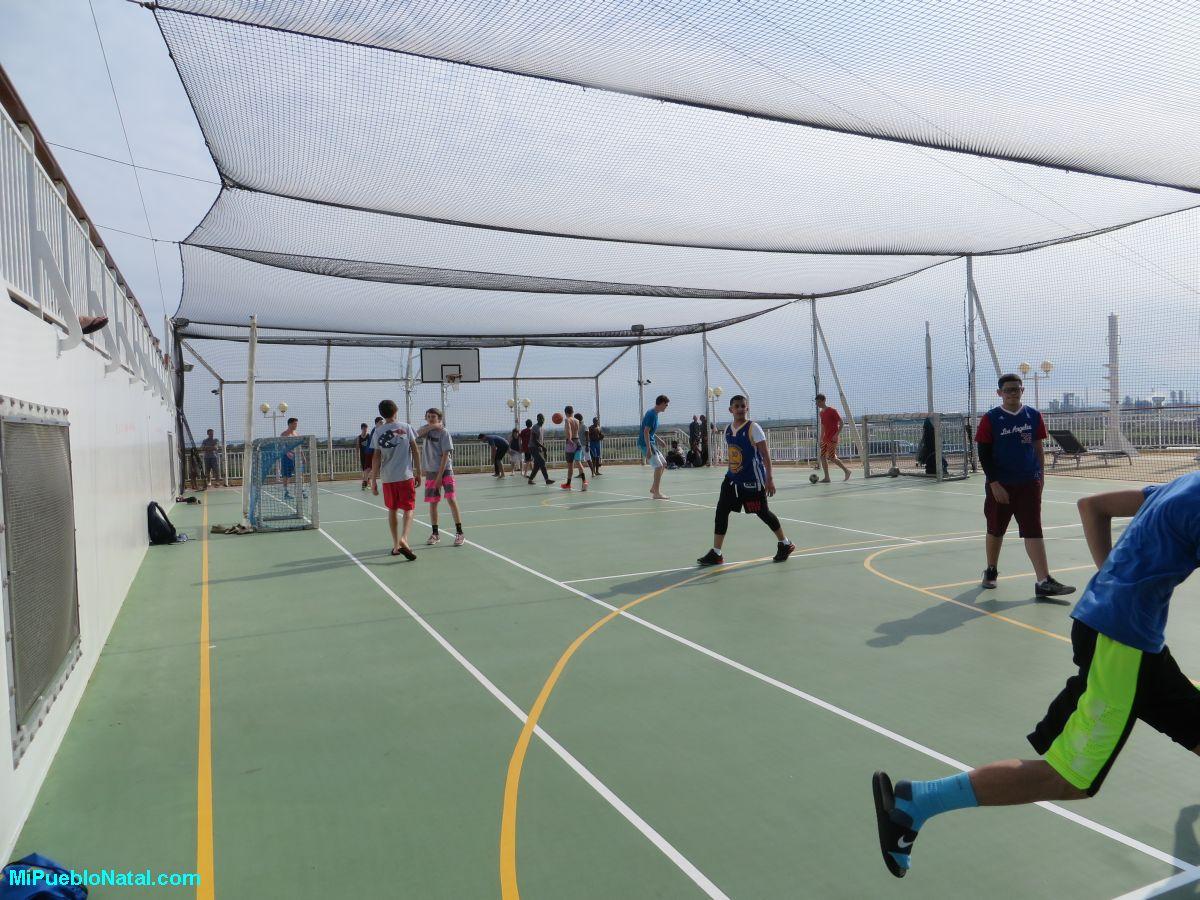 Basketbol en un crucero