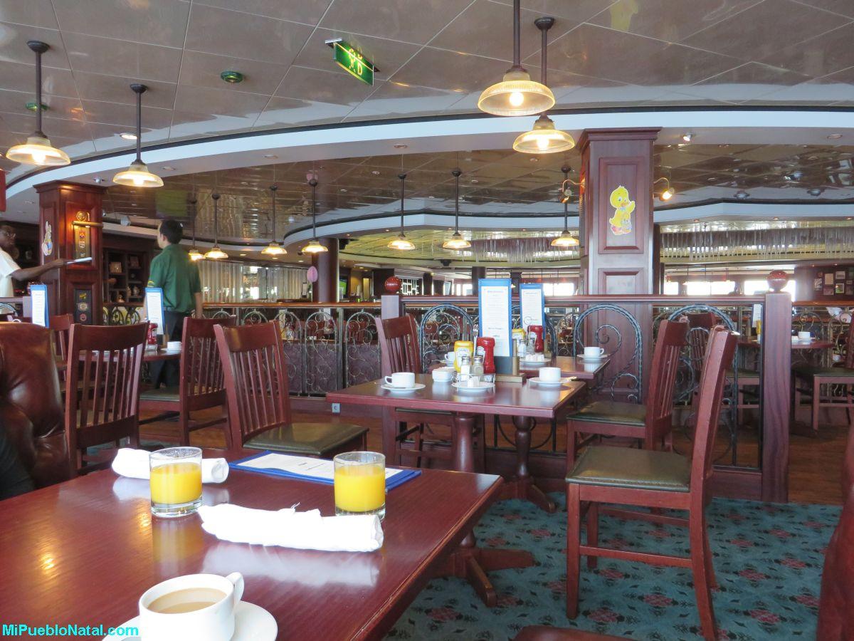Chin Chin restaurante en un crucero