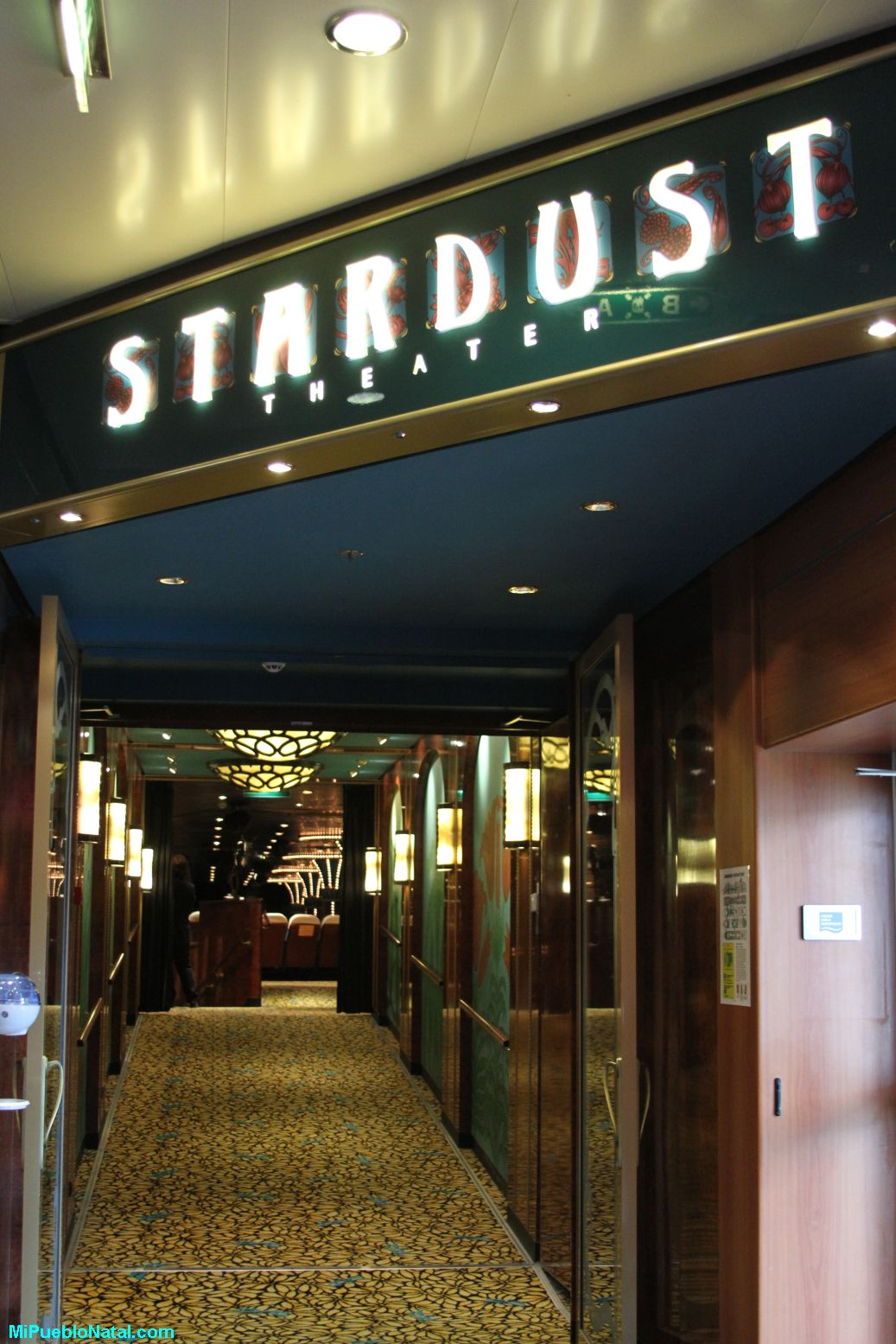 Stardust en el Norwegian Jewel