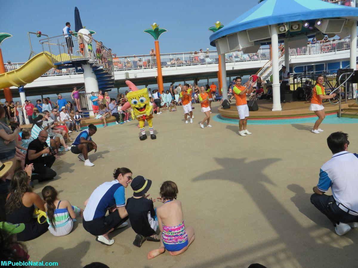 Sponge Bob en el crucero