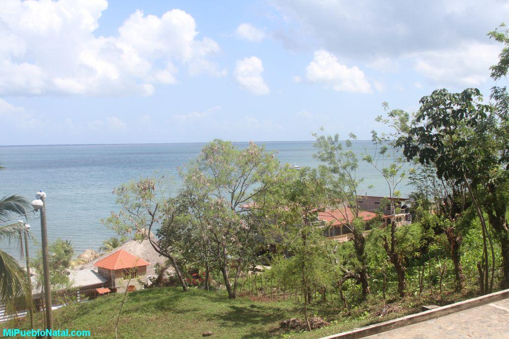 View of the Trujillo bay.