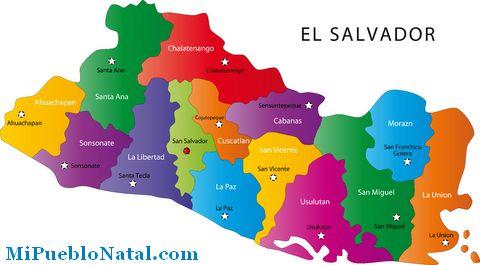 El Mapa Del Salvador