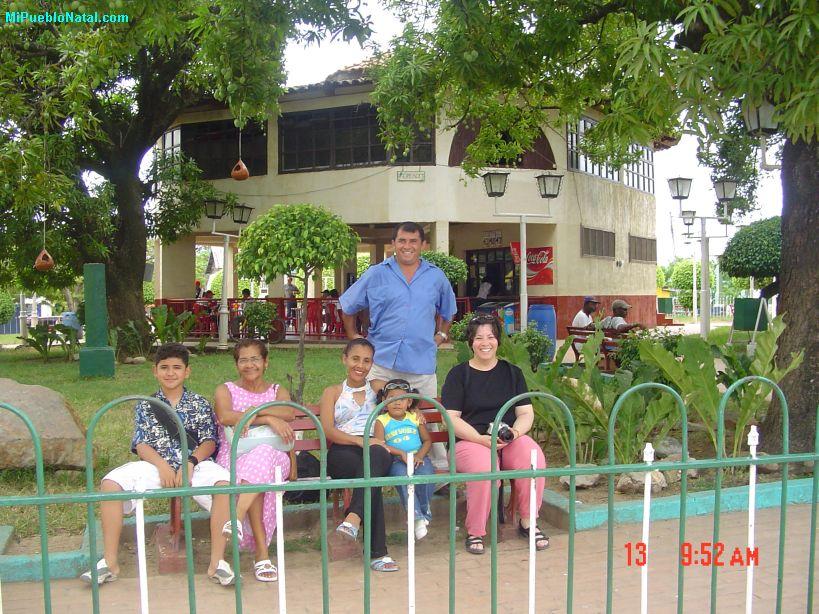 En el parque central de Trujillo