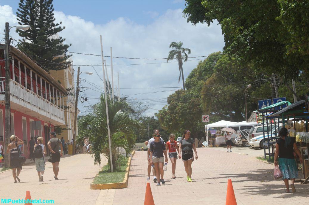 El centro de Trujillo.
