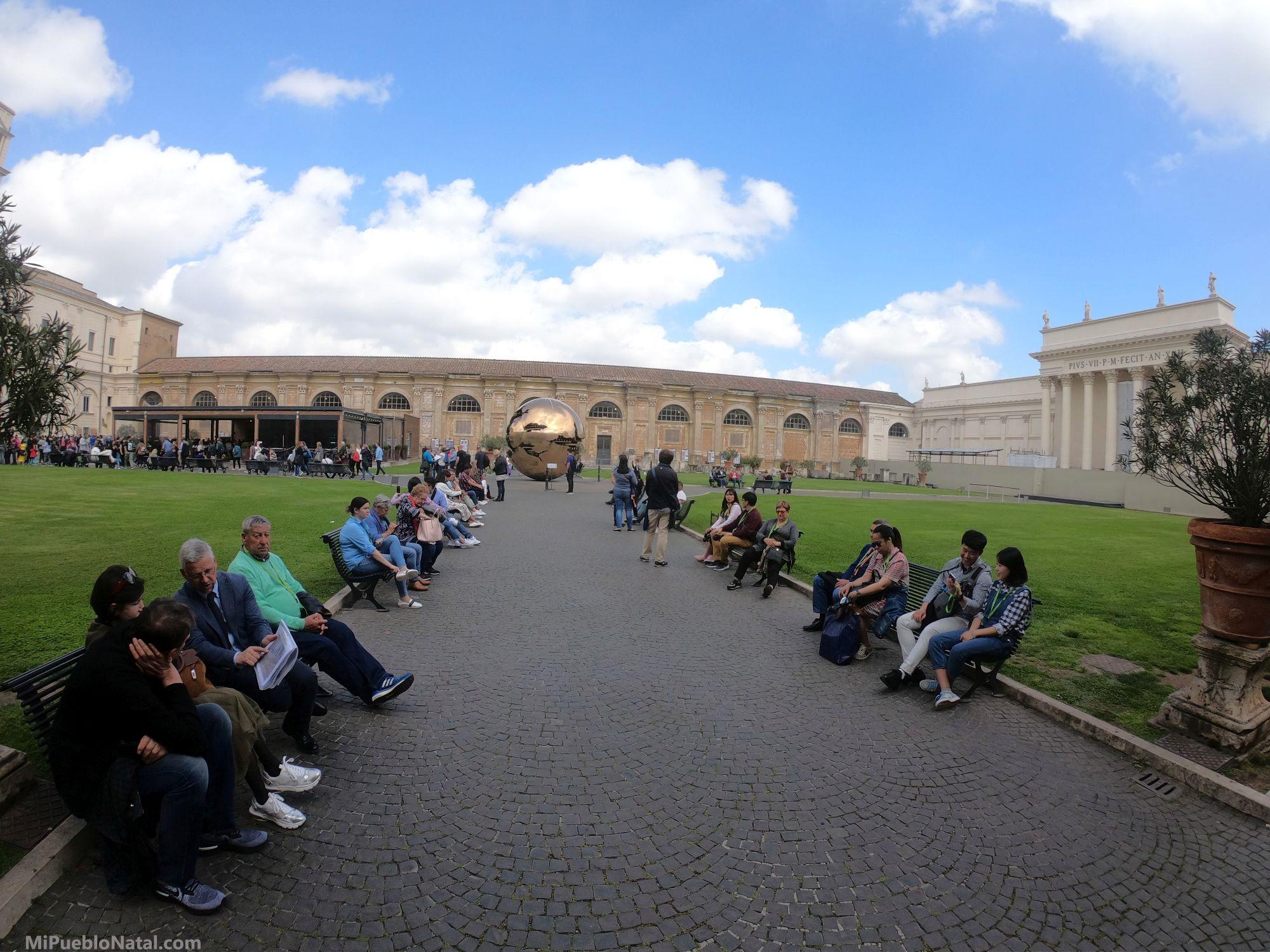Jardin de los museos del Vaticano