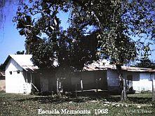 La escuela menonita 1962