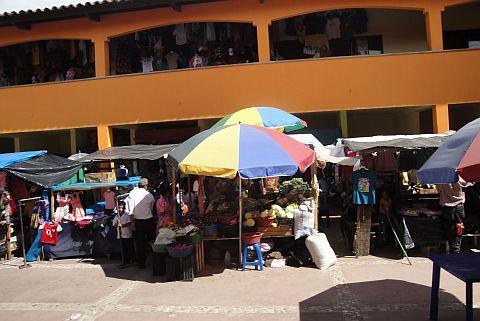 Copan ruinas mercado