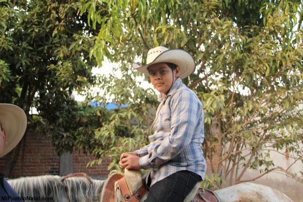 Moi en caballo