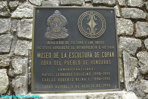Museo de Escultura - Ruinas de Copan