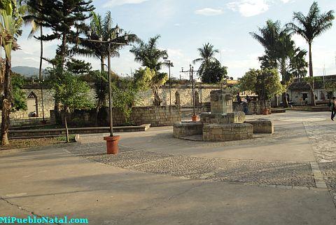 Fotografia del Parque Central de Copan Ruinas