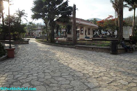 Fotos del Parque Central de Copan Ruinas