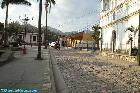 Foto del Parque Central de Copan Ruinas