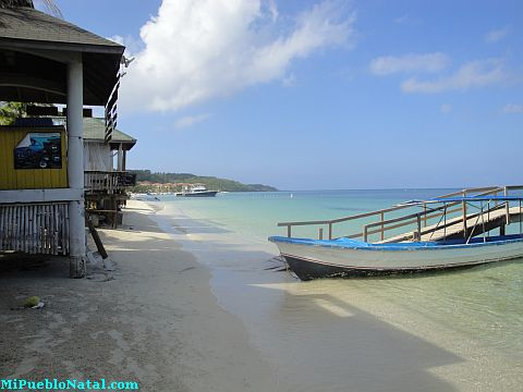 living in roatan