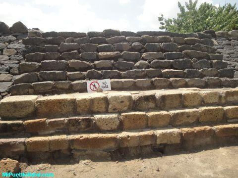 Escalones de las Piramide