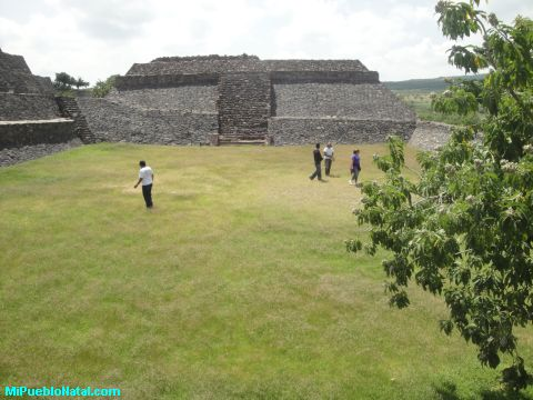 Visitando las piramide