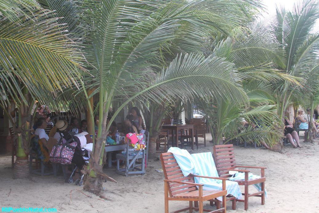 Playa principal de Trujillo, Honduras