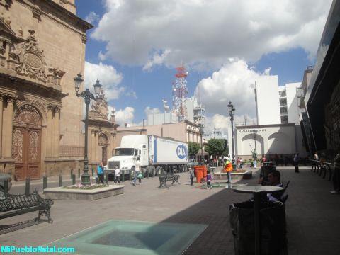 Plaza enedicto XVI