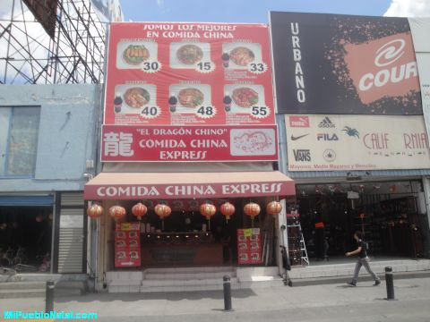 Comida China en la Plaza del Zapat
