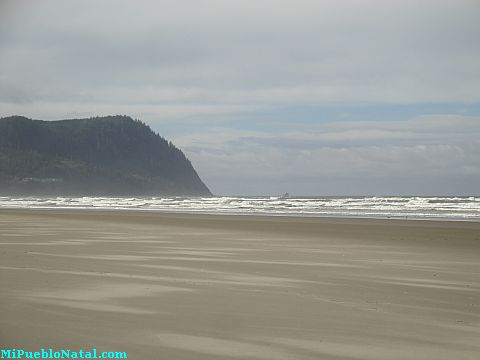 Seaside Oregon Beach