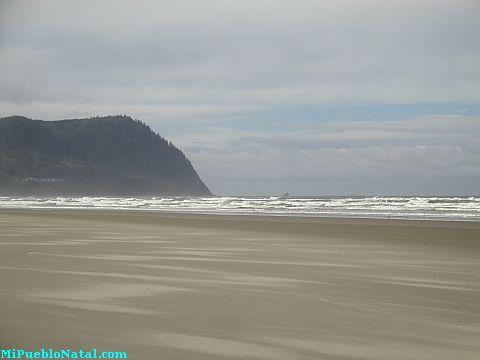 Seaside Oregon Beach