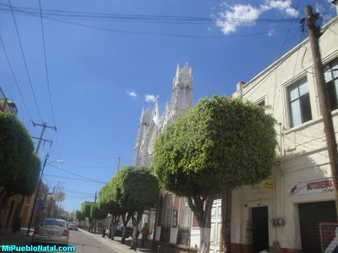 Vista del templ