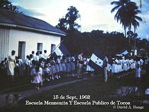 15 de Septiembre de 1962 en Tocoa