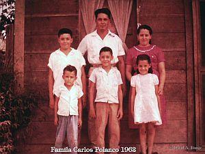 La familia Carlos polanco en 1962