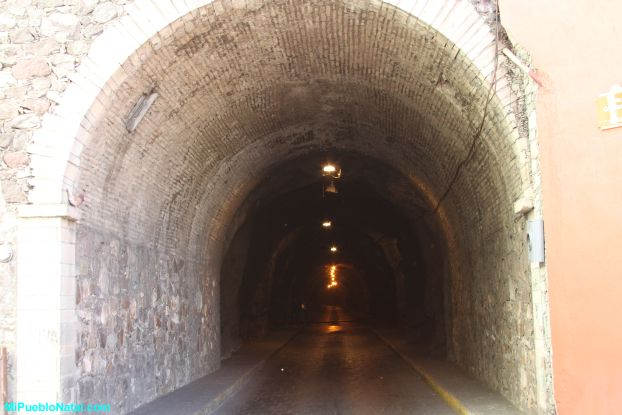 Tunnel in Guanajuato City